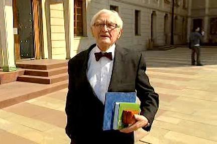Profesor František Dvořák