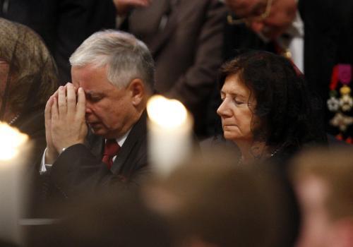 Polský prezident a jeho žena