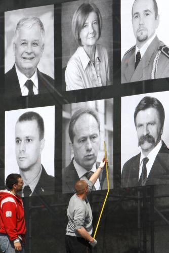 Přípravy na poslední rozloučení ve Varšavě