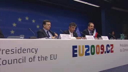 Český premiér na jednání Evropské komise