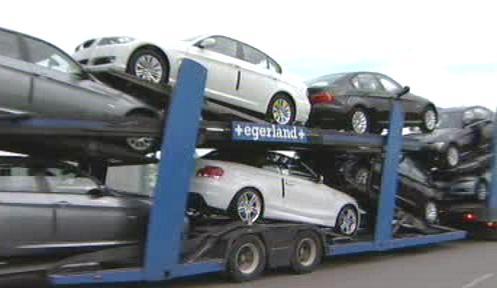 Přeprava automobilů