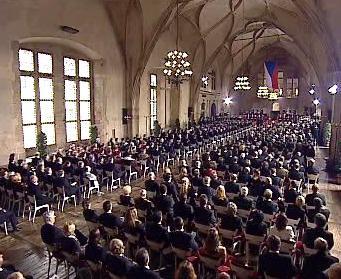 Vladislavský sál Pražského hradu