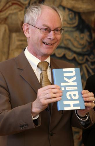 Herman Van Rompuy vydal básnickou sbírku