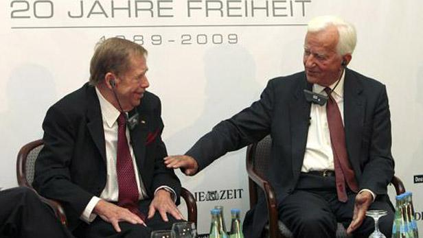 Václav Havel a Richard Weizsäcker
