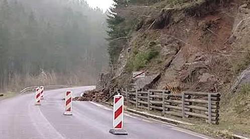 Uzavírka na silnici