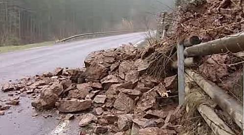 Kameny na silnici