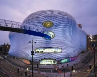 Jan Kaplický / Nákupní středisko sítě Selfridges v Birminghamu, UK