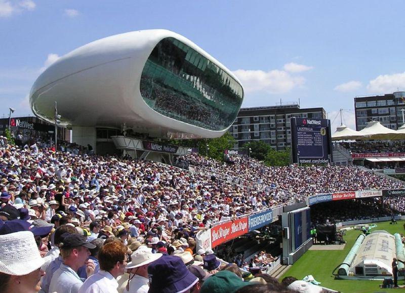 Tiskové centrum na stadionu  Lord\'s Cricket Ground v Londýně