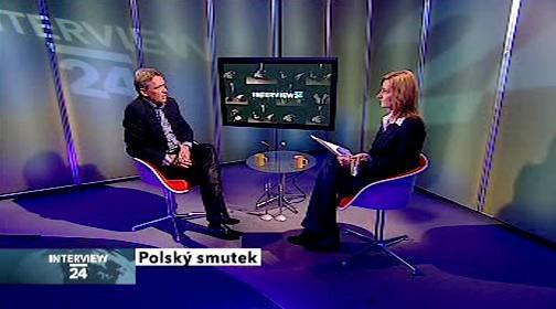 Interview ČT24 s farářem Zbigniewem Czendlikem
