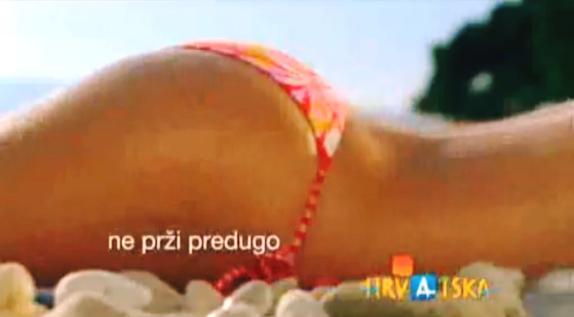 Záběr ze sporné chorvatské upotávky