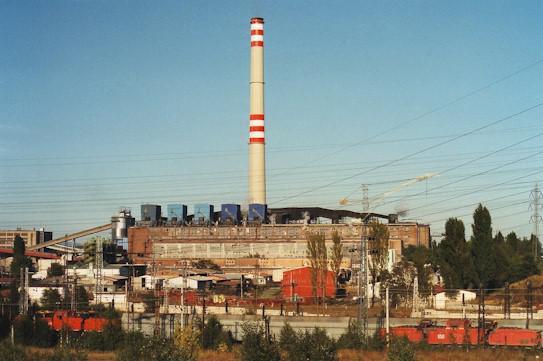 Teplárna United Energy v Komořanech
