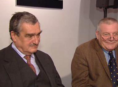 Karel Schwarzenberg a Karel Hvížďala