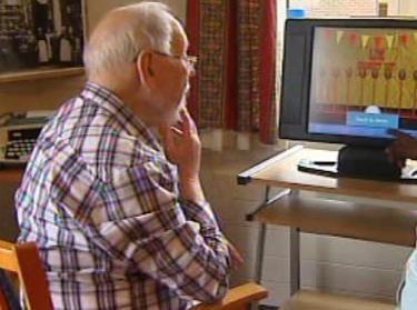 Pacient u počítačové hry