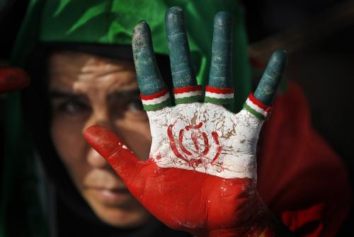 Prezidentská volební kampaň v Íránu