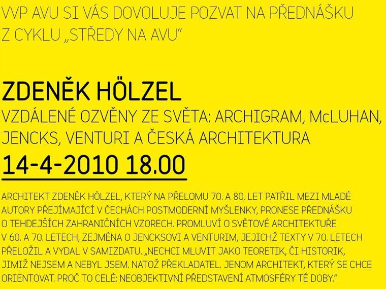 Přednáška Zdeňka Hölzela