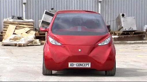 Nový elektromobil z od firmy DOK-ING