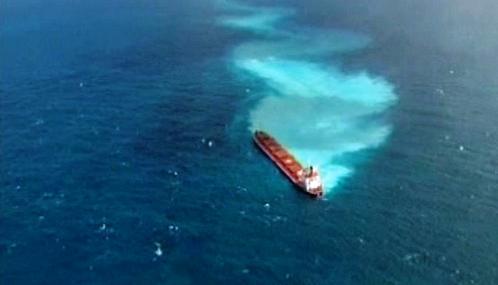 Havárie nákladní lodi