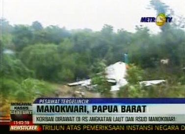 Havárie indonéského letadla