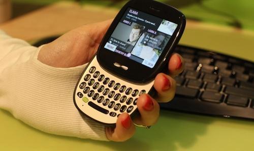 Mobil KIN od společnosti Microsoft