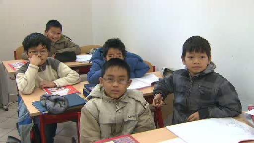 Děti ve vietnamské škole