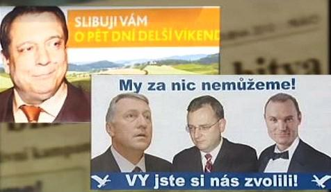 Antikampaň - ČSSD - ODS