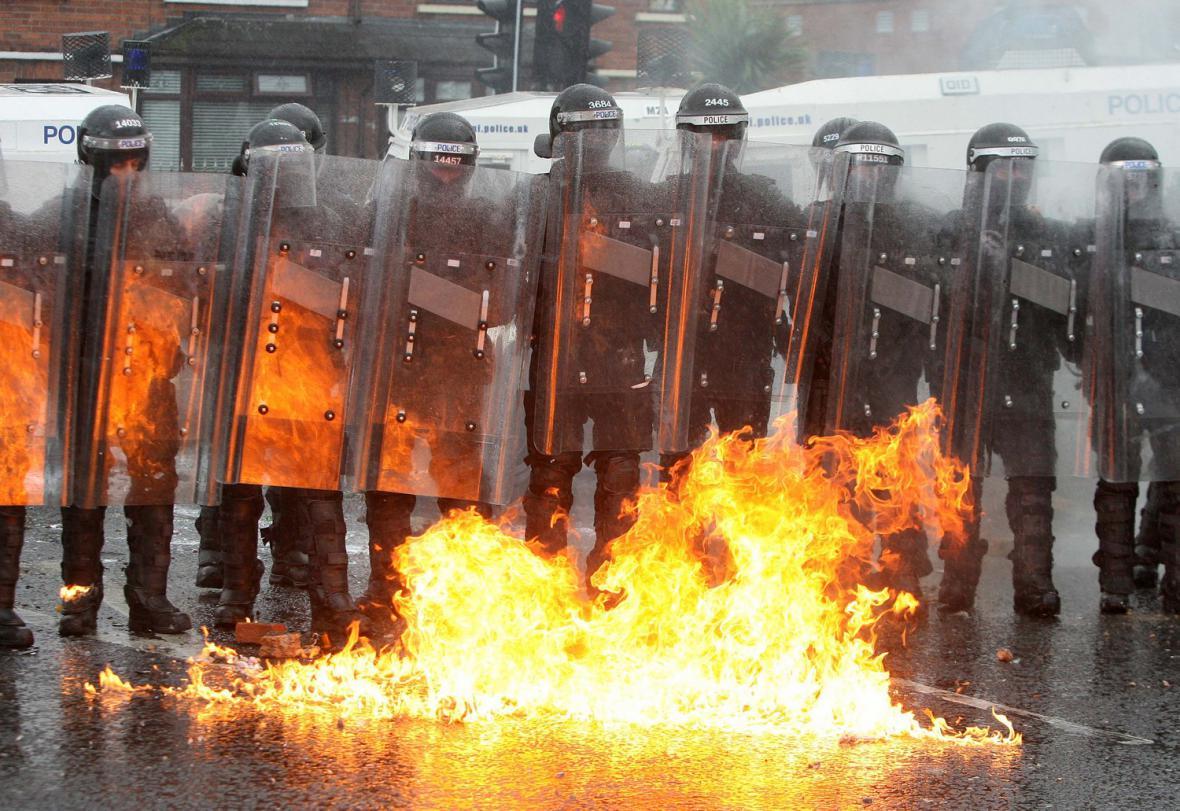 Belfastští policisté