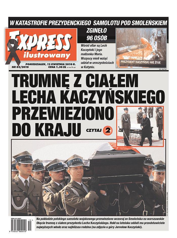 Polský tisk o smrti Lecha Kazcyńského