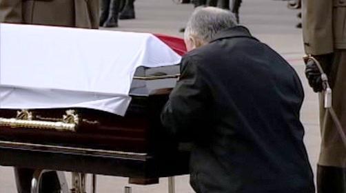 Ostatky polského prezidenta Kaczyńského