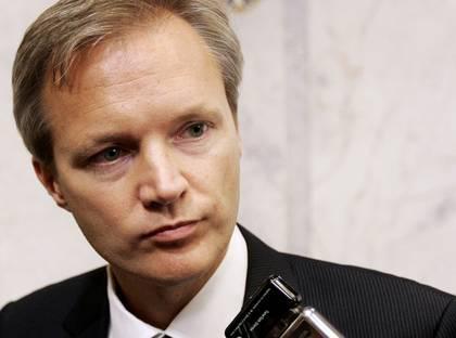 Švédský ministr obrany Sten Tolgfors