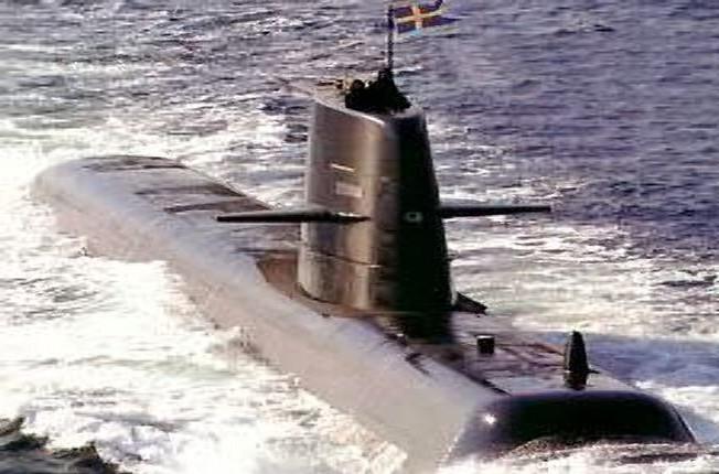 Švédská ponorka třídy Gotland