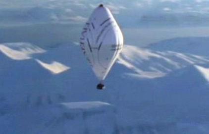 Let balonem nad Arktidou