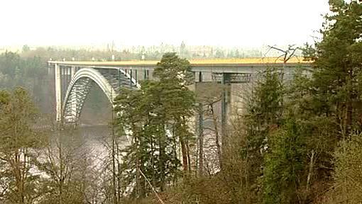 Žďákovský most přes Orlickou přehradu