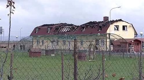 Vyhořelý penzion