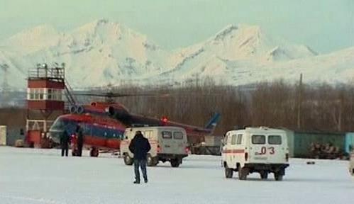 Záchranná akce na Kamčatce