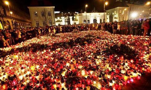 Polsko truchlí za mrtvého prezidenta