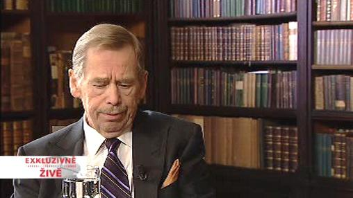 Václav Havel v exkluzivním rozhovoru pro ČT