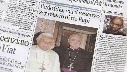 Italský tisk o případech zneužívání v církvi