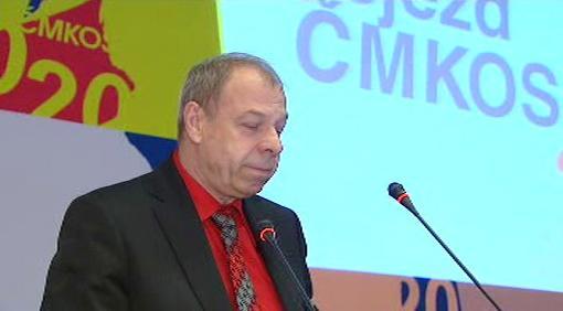 Nový předseda odborářů Jaroslav Zavadil