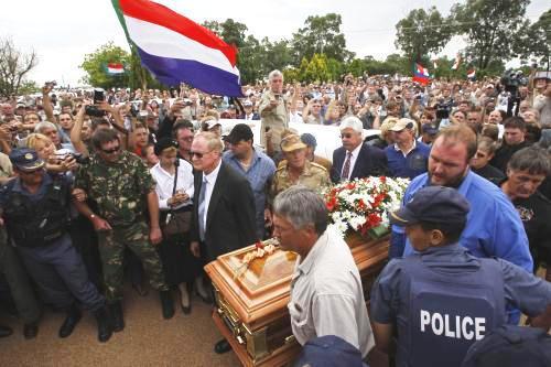 Pohřeb Eugena Terreblanche