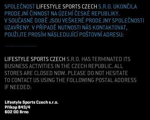 Irský prodejce oblečení v Česku končí