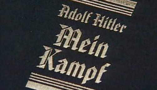 Kontroverzní kniha Adolfa Hitlera Mein Kampf