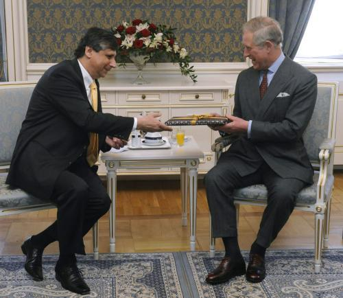 Jan Fischer a princ Charles