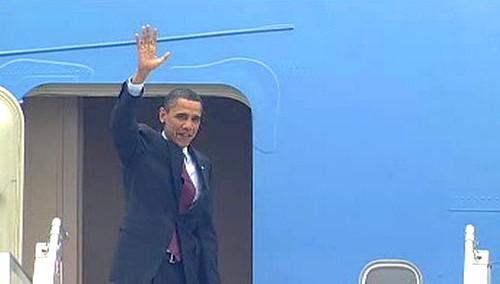 Barack Obama se loučí s Českem