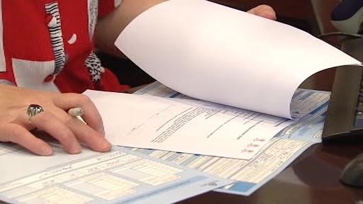 Vyplňování formuláře