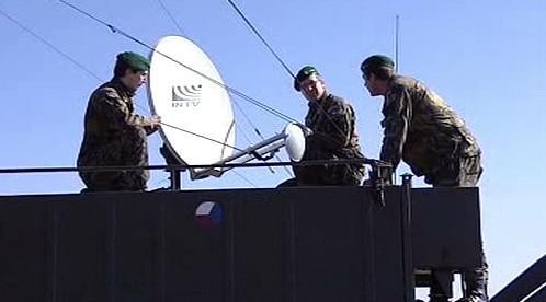Vojáci u satelitu