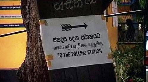 Volby na Srí Lance