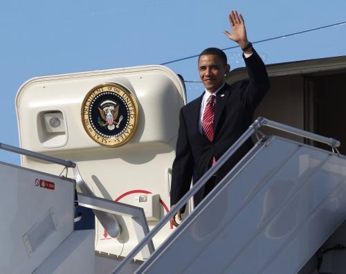 Barack Obama v Praze