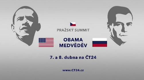 Pražský summit Obama Medvěděv