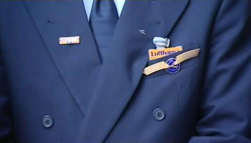 Pilot Lufthansy