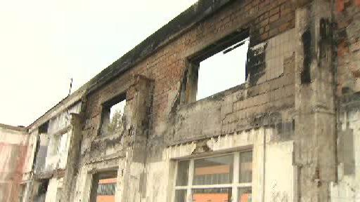 Tržnice v pražské Sapě rok po požáru